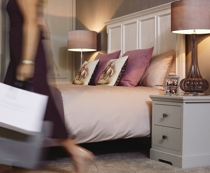 Woman in Kindred Bedrooms