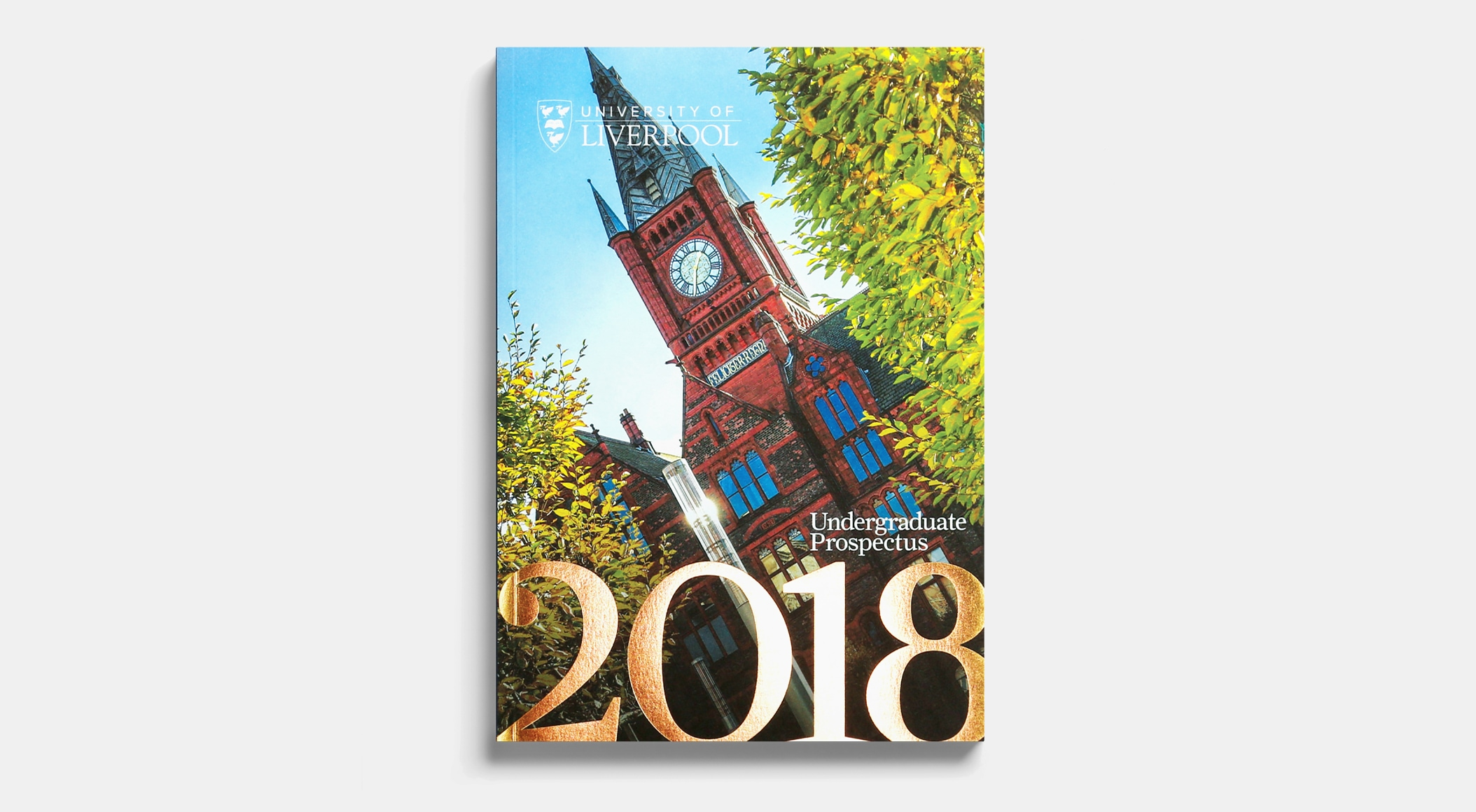 University of Liverpool Prospectus 2018 - front cover